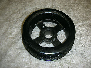Corvair 60 62 Air Conditioning And Top Fan Pulley Fresh Black Engine Enamel