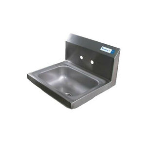 Bk Resources Bkhs w 1410 4d 14 w Wall Mount Hand Sink Without Faucet