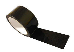 24 Rolls Black Color Packing Packaging Tape 3 X 330