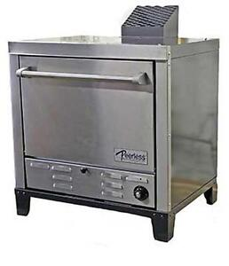 Peerless Ovens Counter Top Gas Pizza Oven W Four 24x19 Stone Hearth Decks