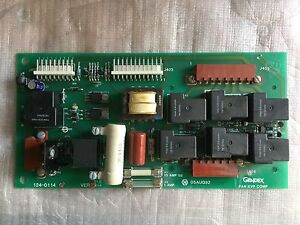 Gendex Oem Pc Circuit Board Pcb 124 0144g1 For Gxp Dental X ray Film Processor