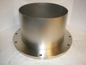 High Vacuum Research Chamber Iso 320 Half Nipple Stainless Steel
