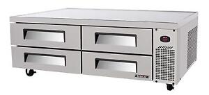 Turbo Air Tcbe 72sdr n 72 S s Chef Base Cooler W 4 Drawers 12 66 Cuft