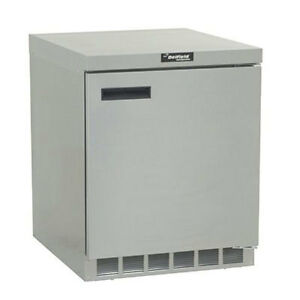 Delfield Gur32p s 10 1 Cu ft 4400 Series Commercial Undercounter Refrigerator