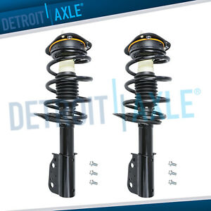 Pair Front Struts W Spring 2006 2008 2009 2010 2011 Cadillac Dts Buick Lucerne