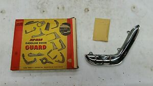 Nos 1955 Plymouth No Mar Stainless Steel Gas Door Guard