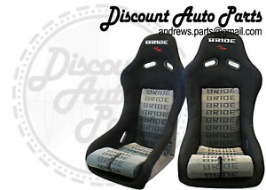 Bride Vios 3 Iii Black Gradation Seats Low Max Jdm Bucket Racing Stance Pair