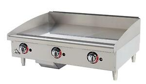 Star 636mf Star max Countertop 36in Manual Gas Griddle