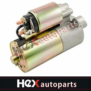 New Starter For Ford Focus 2 0l 2000 2001 2002 2003 2004 W Auto Trans 6655