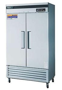 Turbo Air 35 Cu ft Commercial Freezer W 2 Solid Doors Tsf 35sd