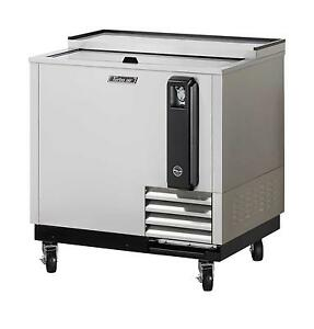36 Bottle Cooler Stainless Exterior With 1 Sliding Door Tbc 36sd