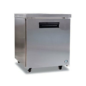 Hoshizaki Crmr27 7 2cuft One Door Undercounter Reach in Refrigerator