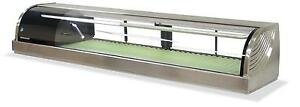 Hoshizaki Hnc 180ba 71 Refrigerated Sushi Glass Case Stainless Counter Top