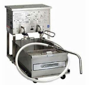 Southbend Sbf14 Mobile Fryer Filter System W 55lb Oil Capacity