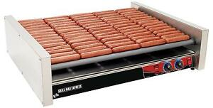 Star X75 Grill max Stadium Seated 75 Hot Dog Chrome Roller Grill