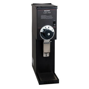 Bunn 22102 0000 2lb Bulk Coffee Bean Grinder Black