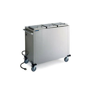 Lakeside 7512 10 1 4 Dia Mobile Convection Heated Plate Dispenser