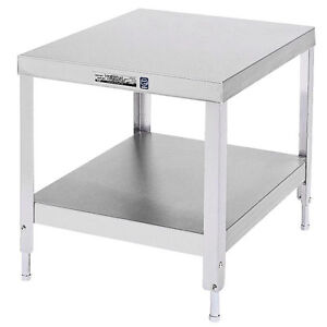 Lakeside 535 20 x24 x21 3 16 Stainless Steel Stationary Machine Stand