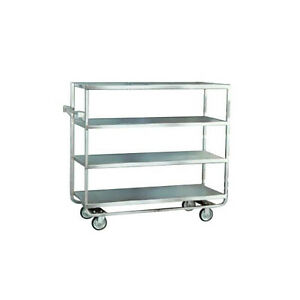Lakeside 761 21 1 2 wx54 1 2 lx49 1 4 h Stainless Steel Open Tray Truck