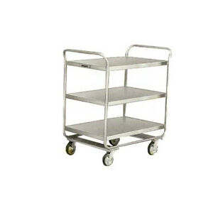 Lakeside 211 27 wx17 1 2 dx35 3 4 h Stainless Steel Utility Cart