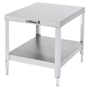 Lakeside 537 24 x32 x21 3 16 Stainless Steel Stationary Machine Stand