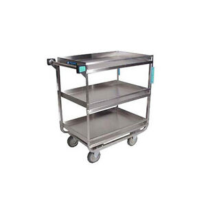 Lakeside 726 19 3 8 x32 5 8 x34 1 2 Stainless Steel Utility Cart
