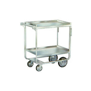 Lakeside 710 16 1 4 x30 x34 1 4 Stainless Steel Welded Utility Cart