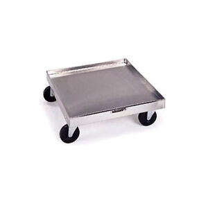 Lakeside 447 20 x20 Stainless Steel Platform Rack Dolly