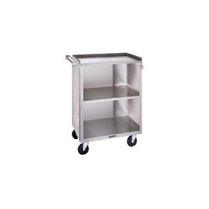 Lakeside 622 19 x30 3 4 x33 7 8 Stainless Steel Bussing Cart