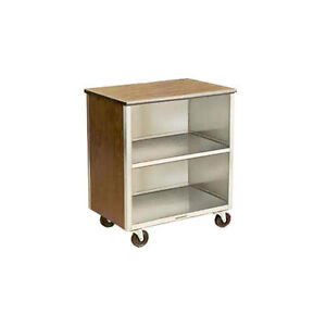 Lakeside 626 18 3 4 x28 1 4 x32 5 8 Stainless Steel Bussing Cart