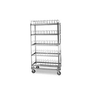 Lakeside 898 5 Shelf Stainless Steel Dome Drying Rack