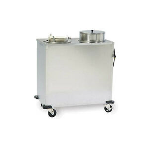 Lakeside E927 Express Forced Air Heat Mobile Plate Dispenser Cabinet