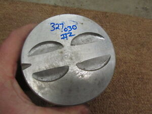327 Sbc 4 030 030 Over Cast Flat Top Piston 2 Small Block Chevy