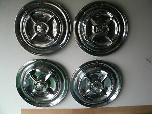 4 1956 Dodge Royal Lancer Hubcaps 15