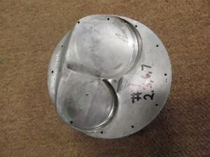 Small Block Chevy Forged Bme 331 Dome Gas Ported Piston 4 030 Bore 1 750 Ch 7