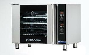 Moffat E31d4 Turbofan Electric Convection Oven Half Size 4 Pan Digital