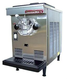 Saniserv 407 10 Qt Soft Serve Ice Cream Yogurt Machine Counter Top