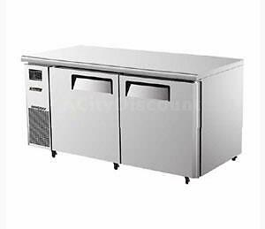 Turbo Air 60 Side Mount Undercounter Refrigerator With 2 Swing Doors Jur 60