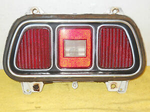 1971 1972 Mustang Mach 1 Fastback Boss Convert Grande Orig Tail Light Assembly
