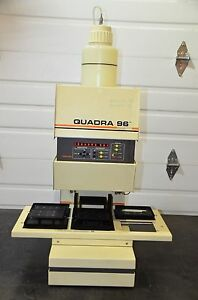 Tomtec Quadra 96 Model 320 6 station Automatic Shuttle Liquid Handling 196 320