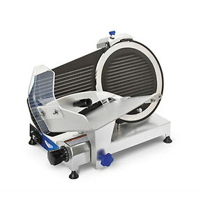 Vollrath 40951 12 Manual Meat Slicer Belt Driven Medium Duty 2 5 Hp