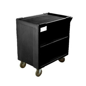 Carlisle Sbc23003 20x33 Service Bus Utility Cart 2 Fixed 2 Swivel Casters
