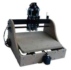 Millright Cnc Machine Kit 3 Axis Cnc Router And Pcb Milling V Slot Us Seller