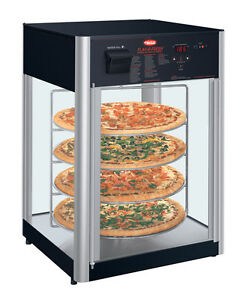 Hatco Fdwd 1 120 qs 1 Door Revolving Display Pizza Cabinet 4 tier Rack Impulse