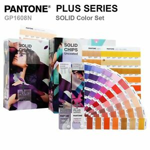 Pantone Color Plus Series Gp1608n Solid Color Set formula Guides And Solid Chip