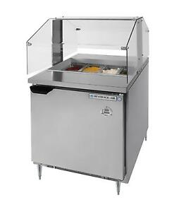 Beverage air Spe27hc snz 7 3 Cu ft Refrigerated Counter Condiment Station