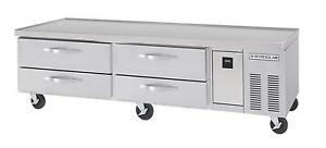 Beverage air Wtrcs84 1 84in Four Drawer Refrigerated Chef Base Equipment Stand