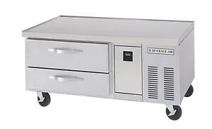 Beverage air Wtrcs52 1 52in Two Drawer Refrigerated Chef Base Equipment Stand