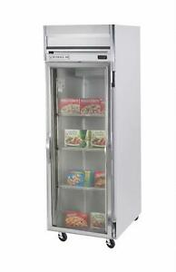 Beverage air Hr1w 1g 34 Cuft Horizon Series Glass Door Reach in Refrigerator
