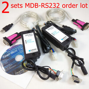 2 Sets Mdb2pc Sdk Sets With Pc Software Source Code Support mdb To Computer